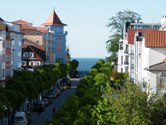 Blick die Wilhelmstrasse hinauf